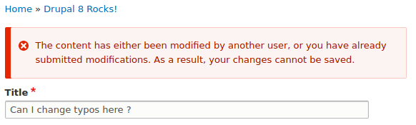 Stop telling users that another user has modified the